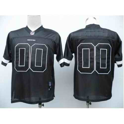 Washington Redskins Men Customized black Jersey