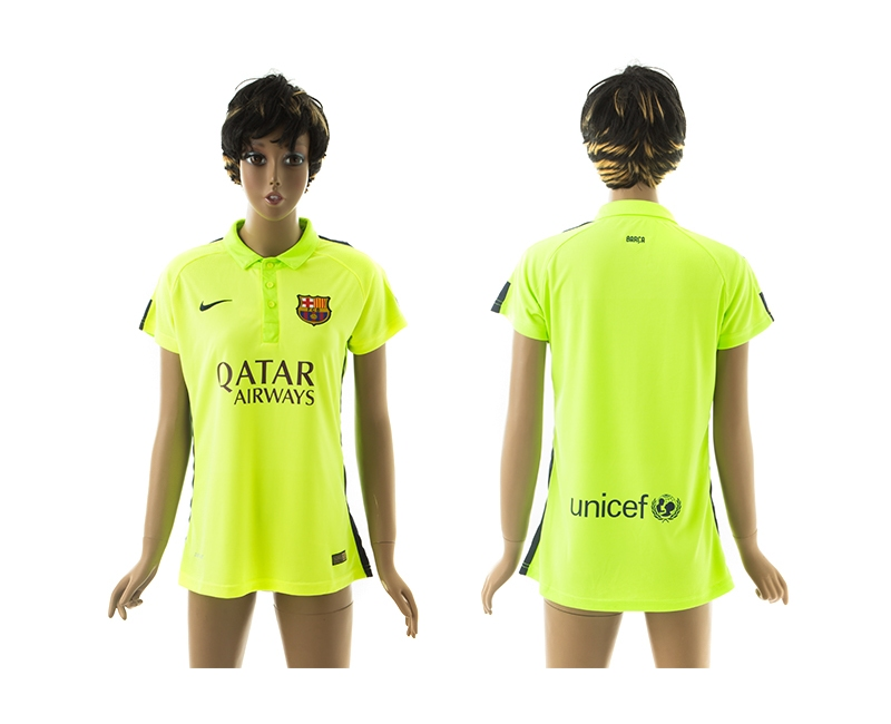 2014-15 Barcelona Third Away Women Jerseys
