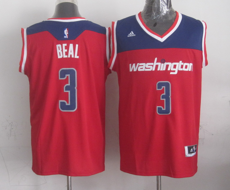 Wizards 3 Beal Red New Revolution 30 Jerseys