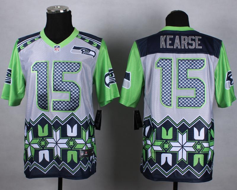 Nike Seahawks 15 Kearse Noble Elite Jerseys