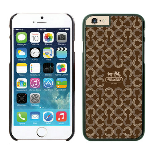 Coach iPhone 6 Cases Black20