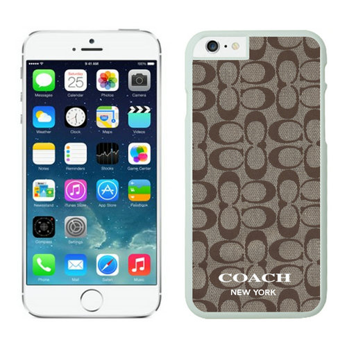 Coach iPhone 6 Cases White14
