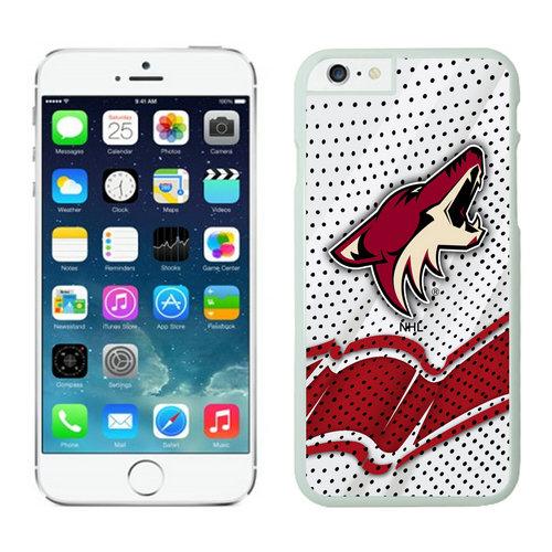 Phoenix Coyotes iPhone 6 Cases White03