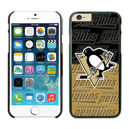 Pittsburgh Penguins iPhone 6 Cases Black03