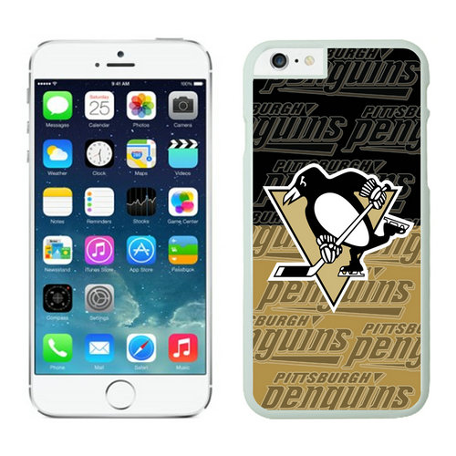 Pittsburgh Penguins iPhone 6 Cases White03