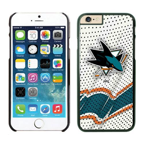 San Jose Sharks iPhone 6 Cases Black03
