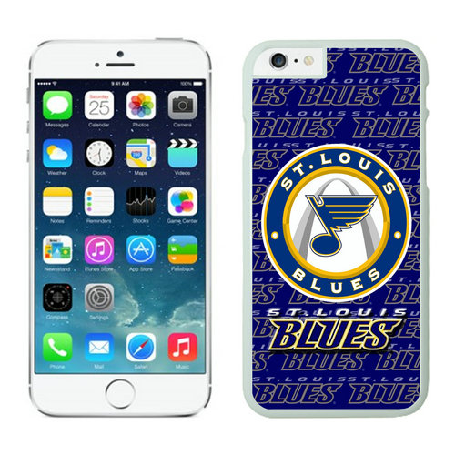 St. Louis Blues iPhone 6 Cases White