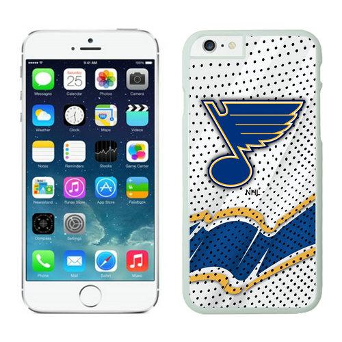 St. Louis Blues iPhone 6 Cases White03