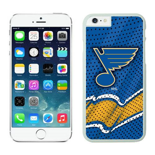 St. Louis Blues iPhone 6 Cases White04