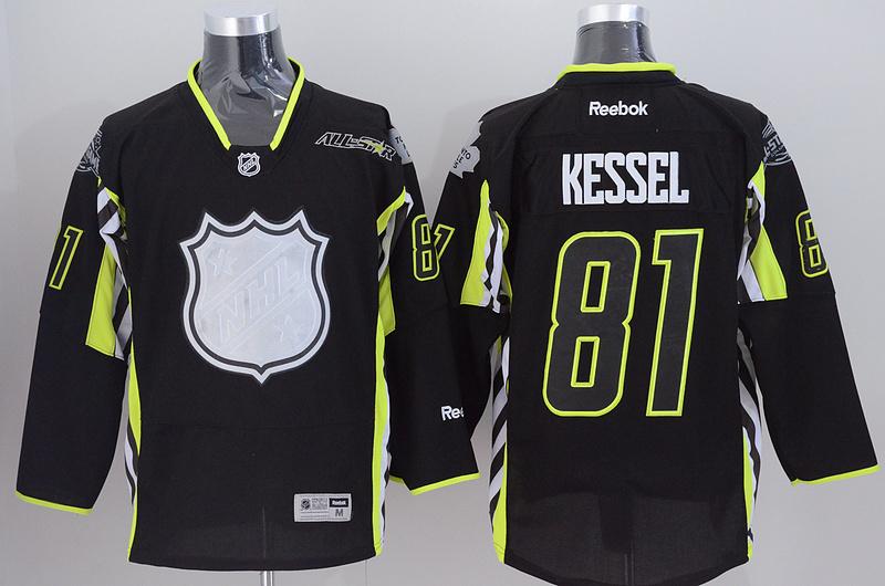 Maple Leafs 81 Kessel Black 2015 All Star Jersey