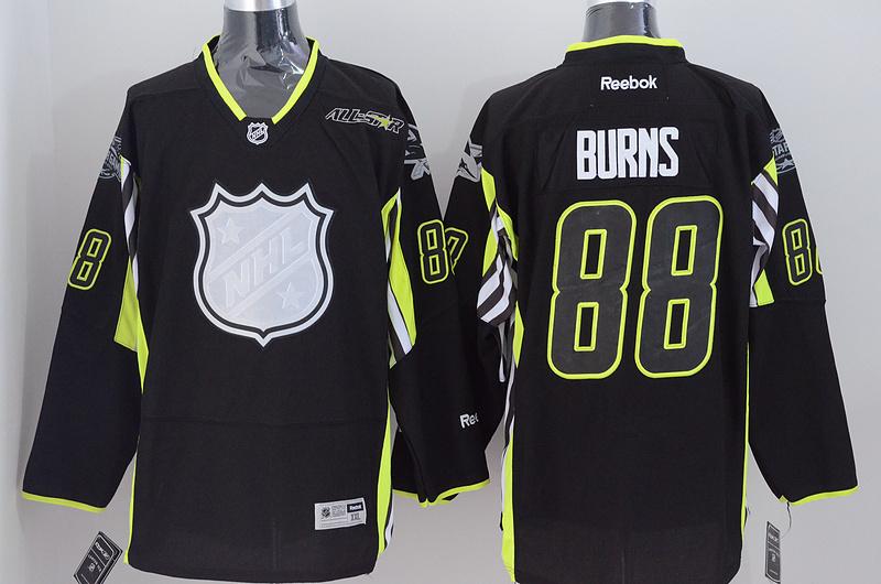 Sharks 88 Burns Black 2015 All Star Jersey