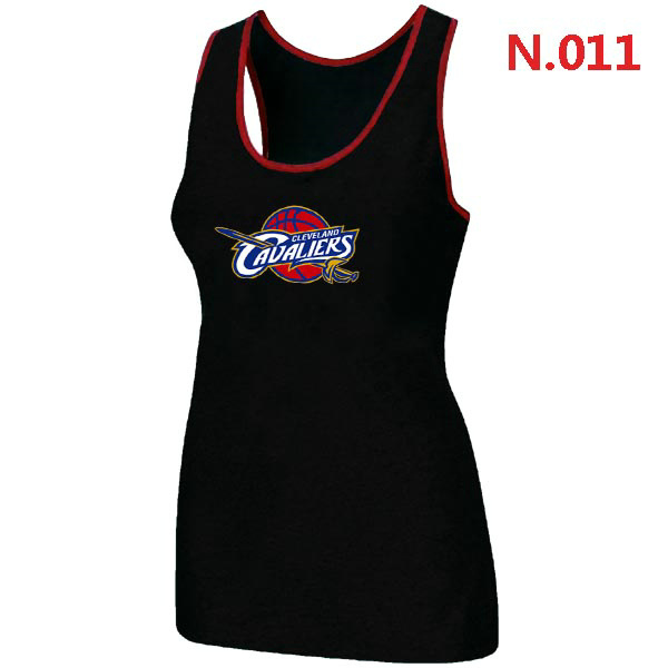 Cleveland Cavaliers Big & Tall Primary Logo Women Black Tank Top