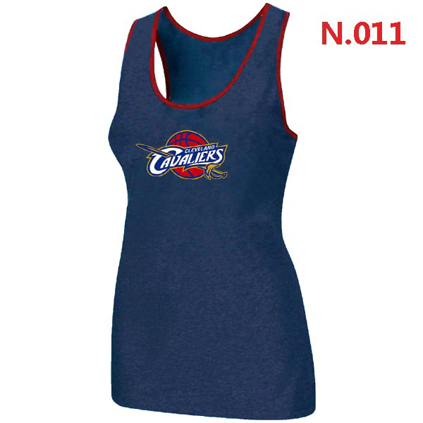 Cleveland Cavaliers Big & Tall Primary Logo Women Blue Tank Top