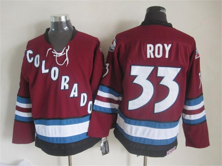 Avalanche 33 Roy Red Jersey