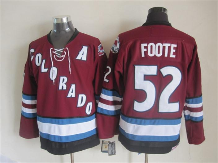 Avalanche 52 Foote A Patch Jersey