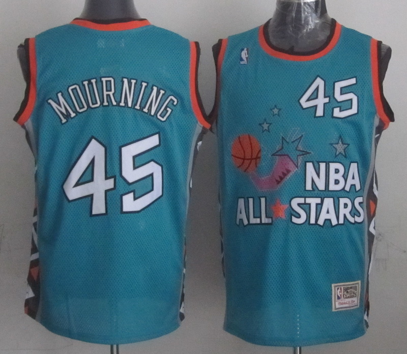 1996 All Star 45 Mourning Teal Jerseys