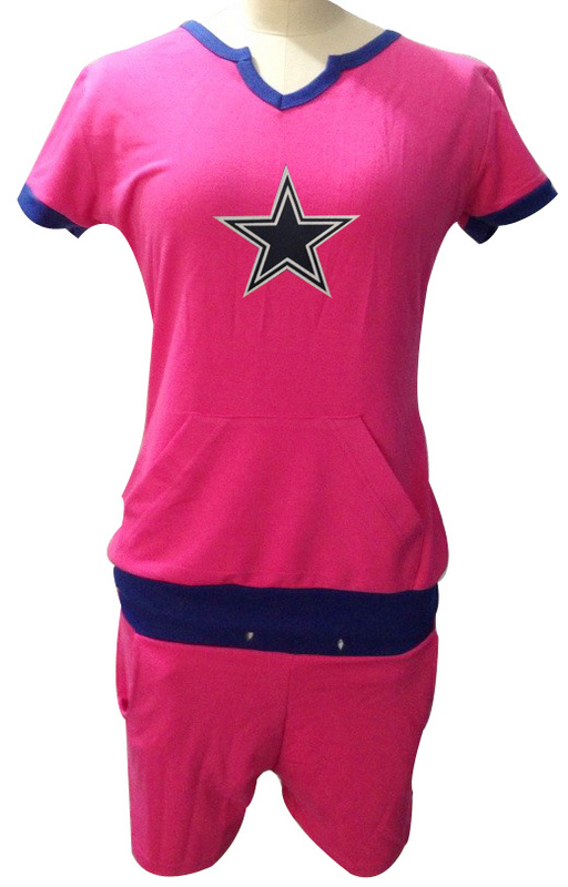 Nike Cowboys Pink Women Sport Suits