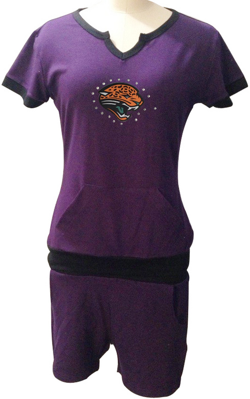 Nike Jaguars Purple Women Sport Suits