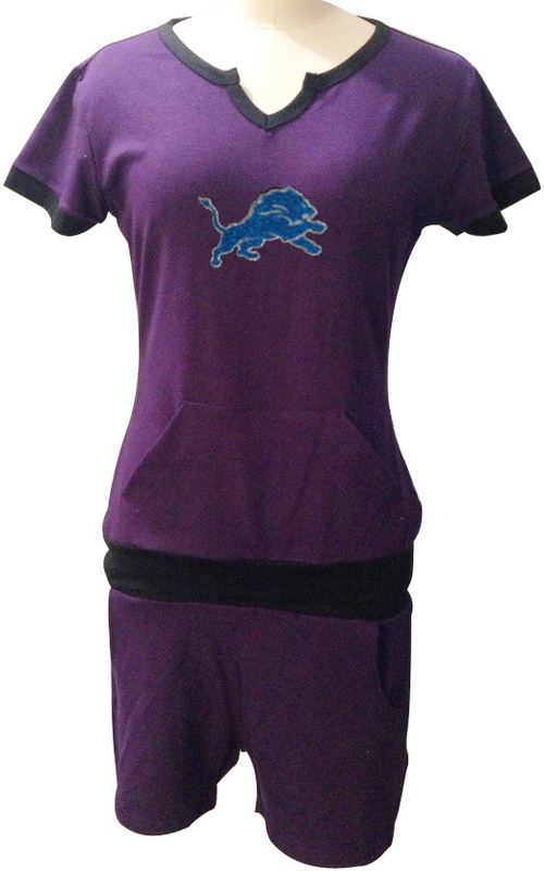 Nike Lions Purple Women Sport Suits