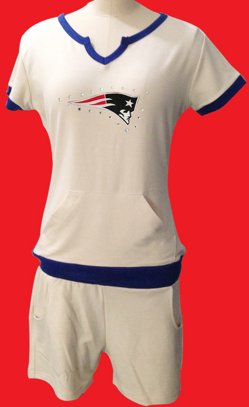 Nike Patriots White Women Sport Suits