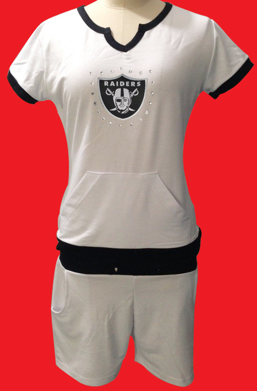 Nike Raiders White Women Sport Suits