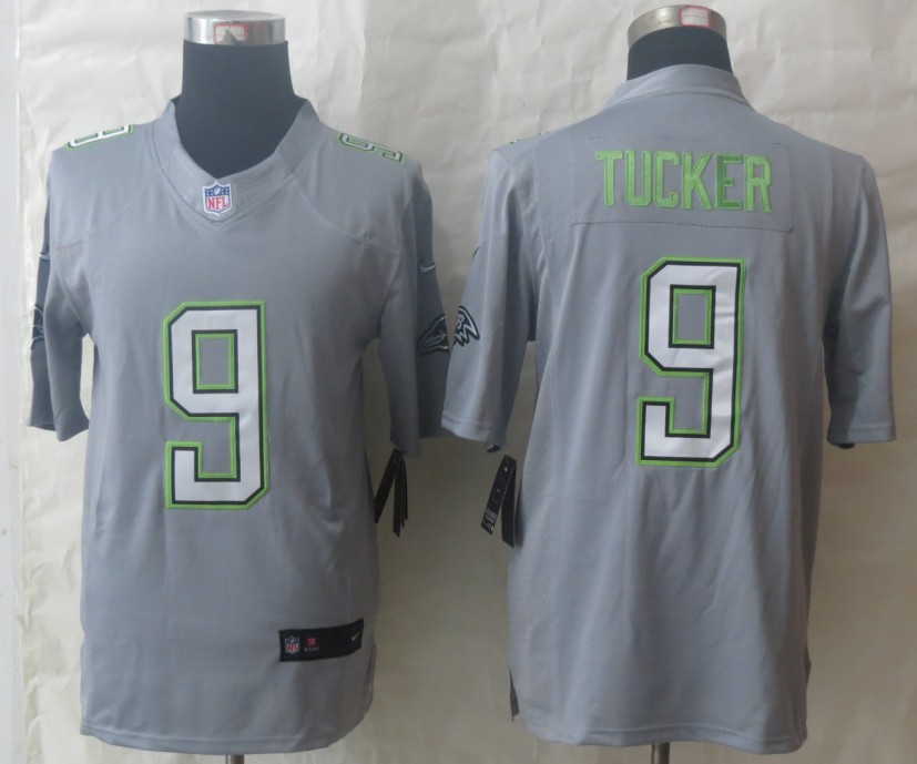 Nike Ravens 9 Tucker Grey 2014 Pro Bowl Jerseys