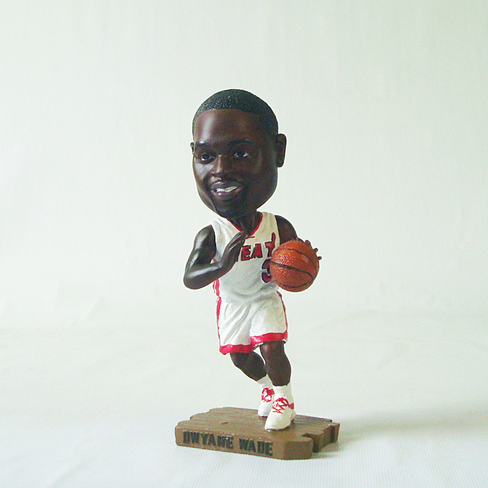 Heat 3 Dwyane Wade Action Figure