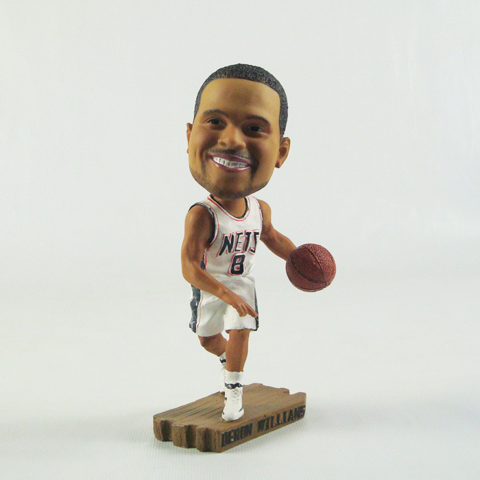 Nets 8 Deron Williams Action Figure