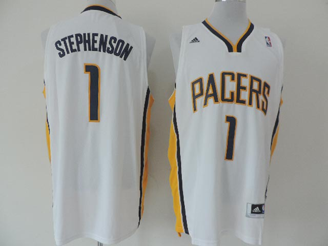 Pacers 1 Stephenson White New Revolution 30 Jerseys