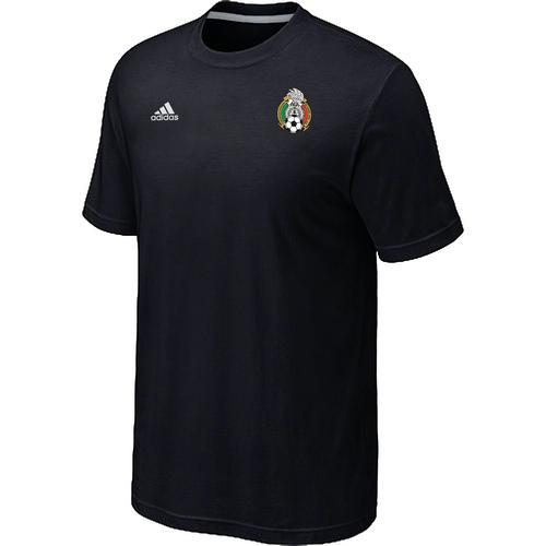 Adidas National Team Mexico Men T-Shirt Black
