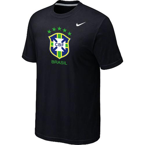 Nike National Team Brazil Big & Tall Men T-Shirt Black