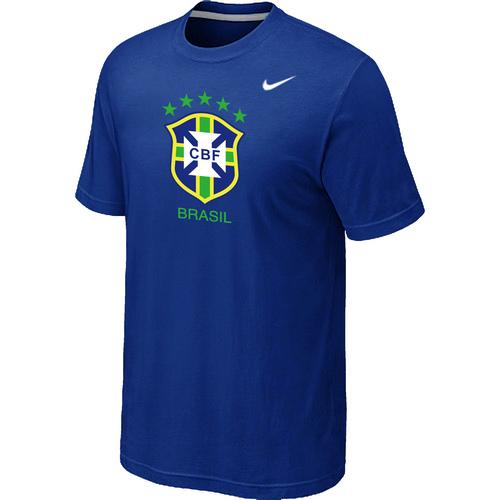 Nike National Team Brazil Big & Tall Men T-Shirt Blue