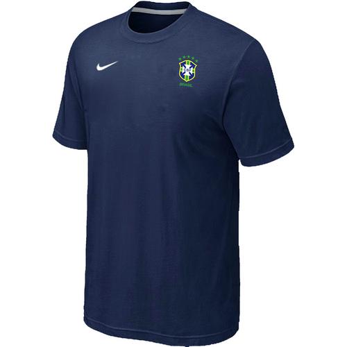 Nike National Team Brazil Men T-Shirt D.Blue