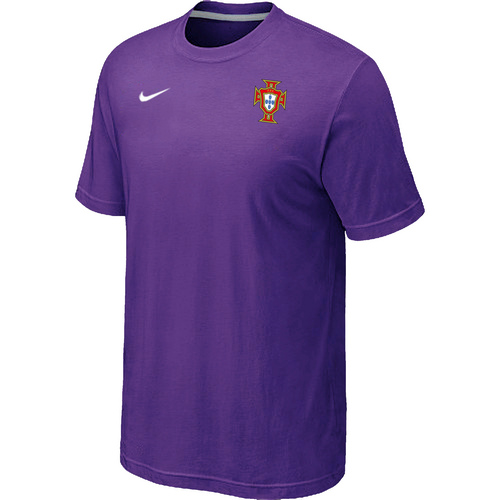 Nike National Team Portugal Men T-Shirt Purple