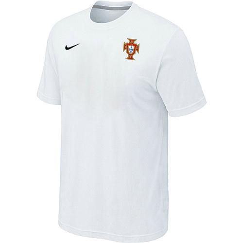 Nike National Team Portugal Men T-Shirt White