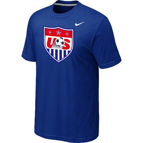 Nike National Team USA Big & Tall Men T-Shirt Blue