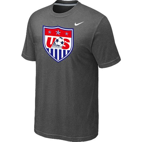 Nike National Team USA Big & Tall Men T-Shirt D.Grey