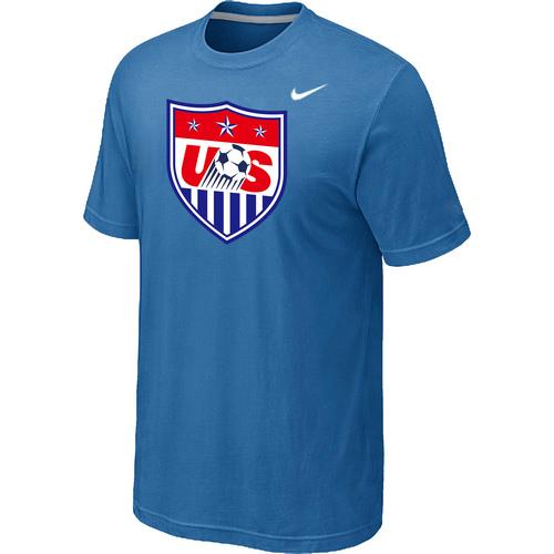 Nike National Team USA Big & Tall Men T-Shirt L.Blue