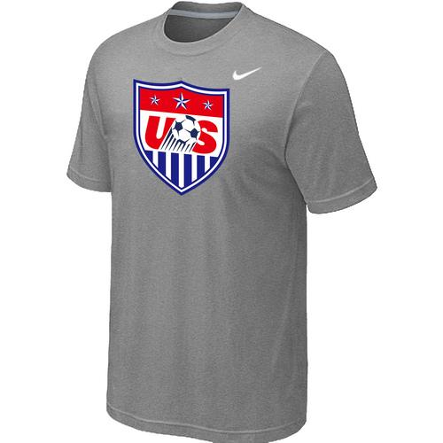 Nike National Team USA Big & Tall Men T-Shirt L.Grey