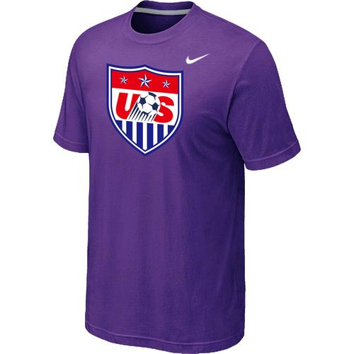 Nike National Team USA Big & Tall Men T-Shirt Purple