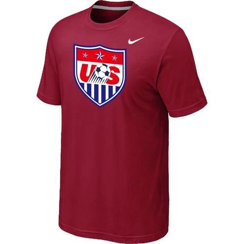 Nike National Team USA Big & Tall Men T-Shirt Red
