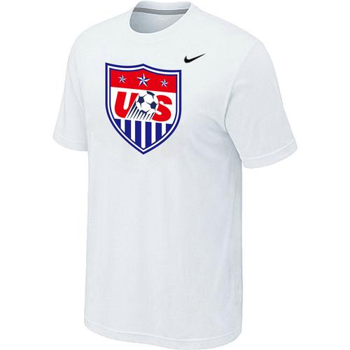 Nike National Team USA Big & Tall Men T-Shirt White