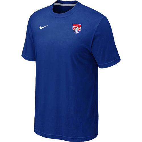 Nike National Team USA Men T-Shirt Blue
