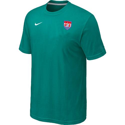 Nike National Team USA Men T-Shirt Green