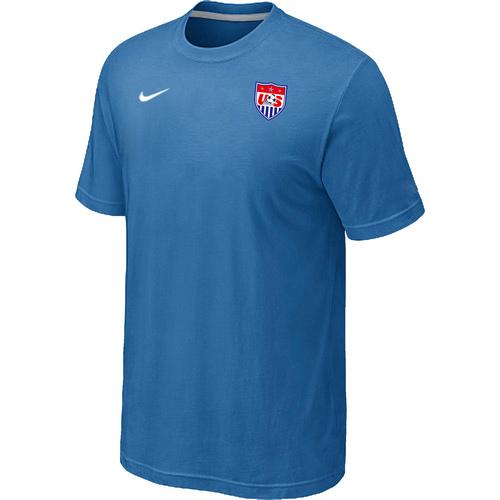 Nike National Team USA Men T-Shirt L.Blue