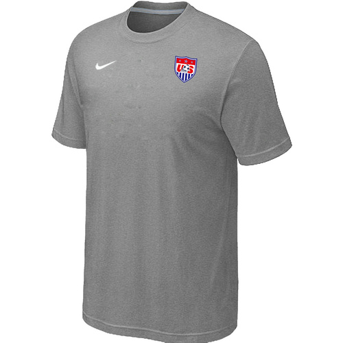 Nike National Team USA Men T-Shirt L.Grey