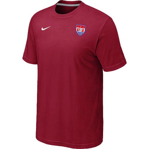Nike National Team USA Men T-Shirt Red