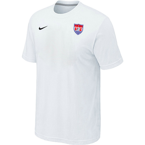 Nike National Team USA Men T-Shirt White