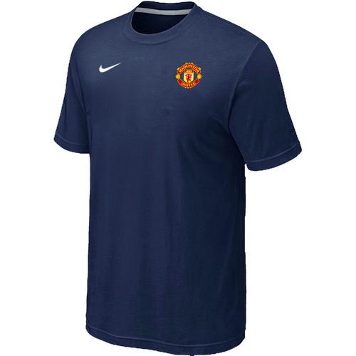 Nike Club Team Manchester United Men T-Shirt D.Blue