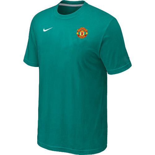 Nike Club Team Manchester United Men T-Shirt Green
